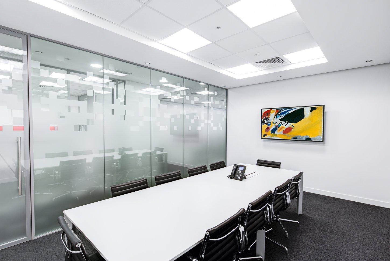 Digital signage used in meeting rooms