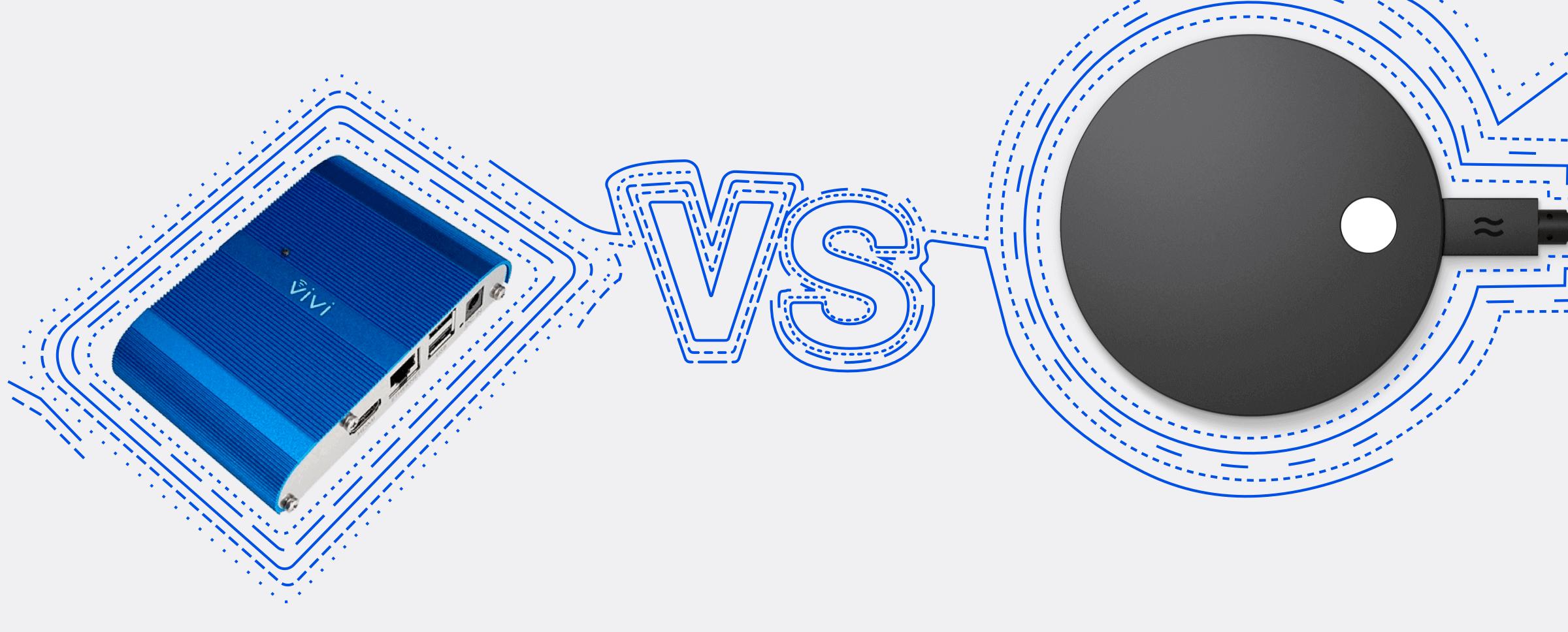 Vivi vs Airtame 2