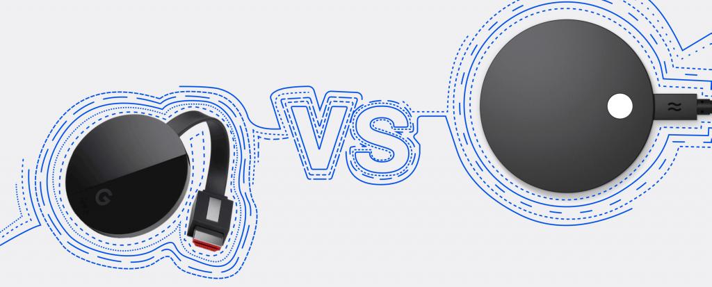 Chromecast vs Airtame 2