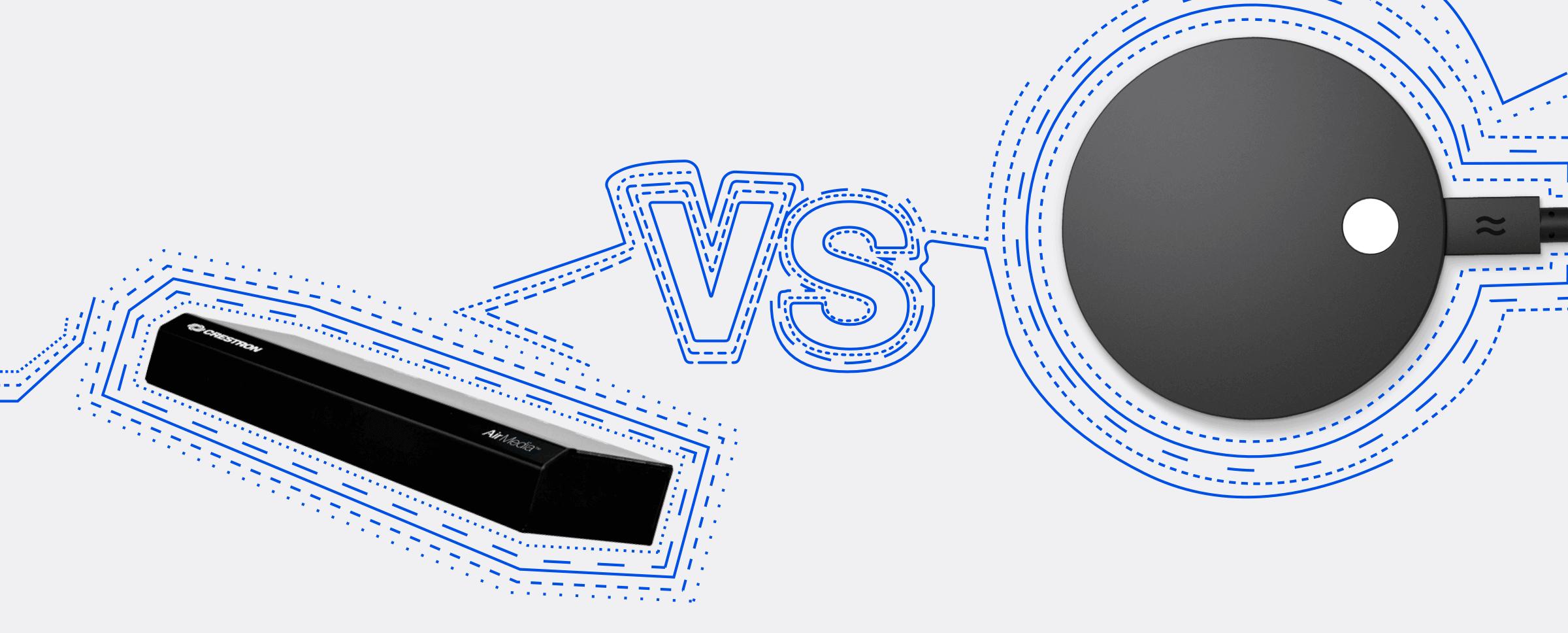Crestron AirMedia vs Airtame 2