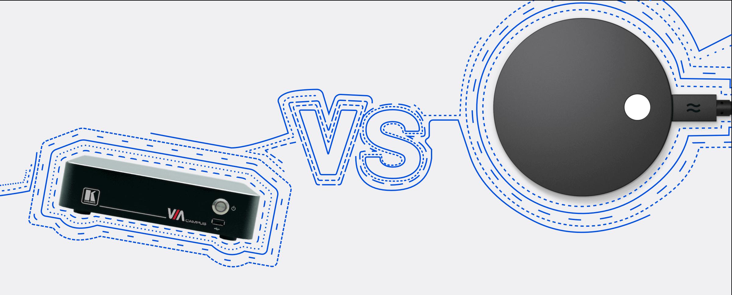 Kramer VIA Go vs Airtame 2