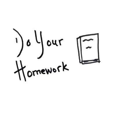 do your homework sketch