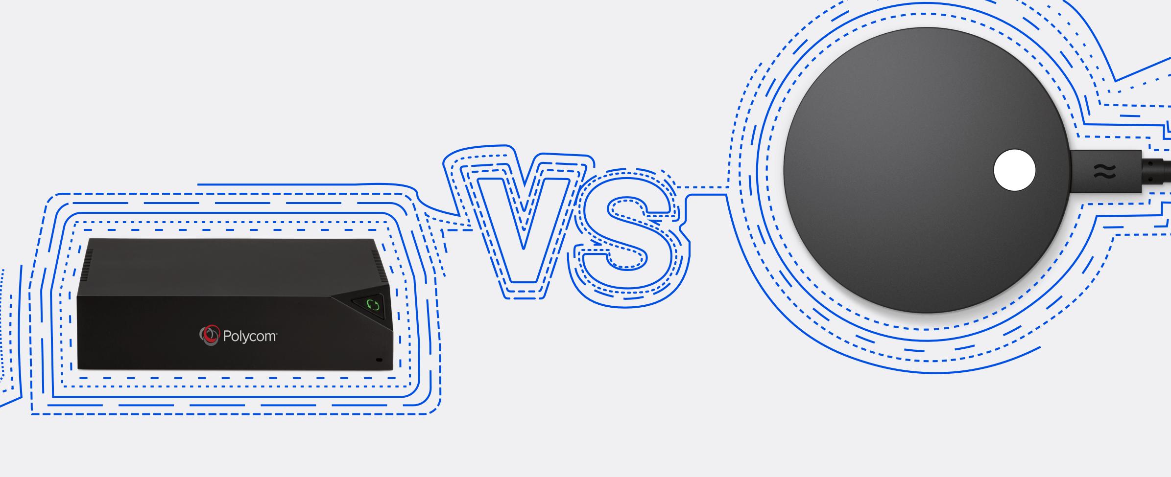 Polycom Pano vs Airtame 2