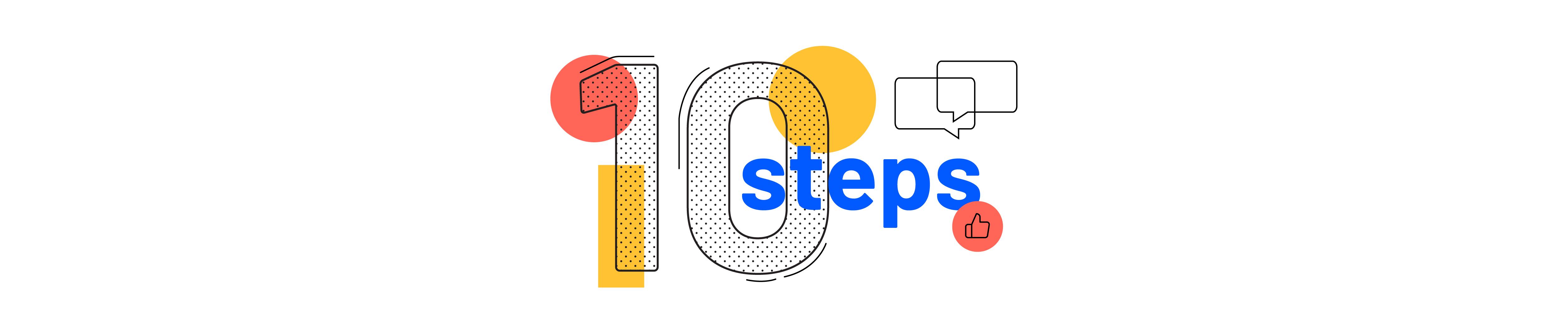 All hands 10 steps sign