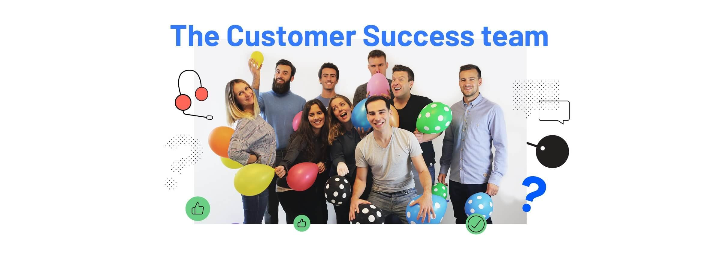 Image of Airtame's all hands customer success team