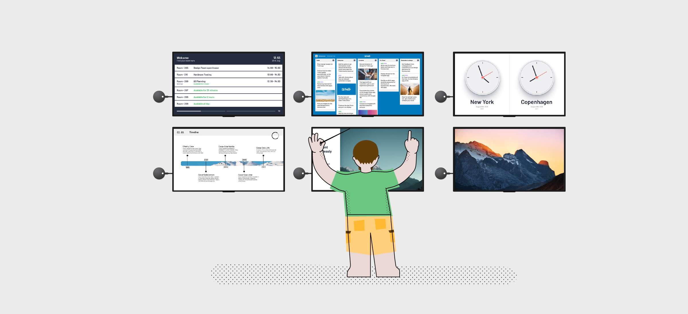 4 ways to spice up your screens with Airtame Cloud apps