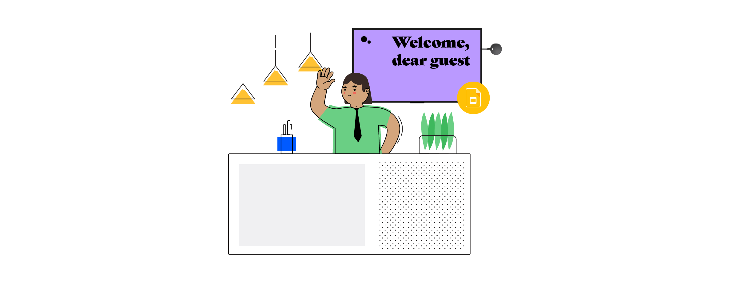 Make your mark with the Google Slides Airtame Cloud app