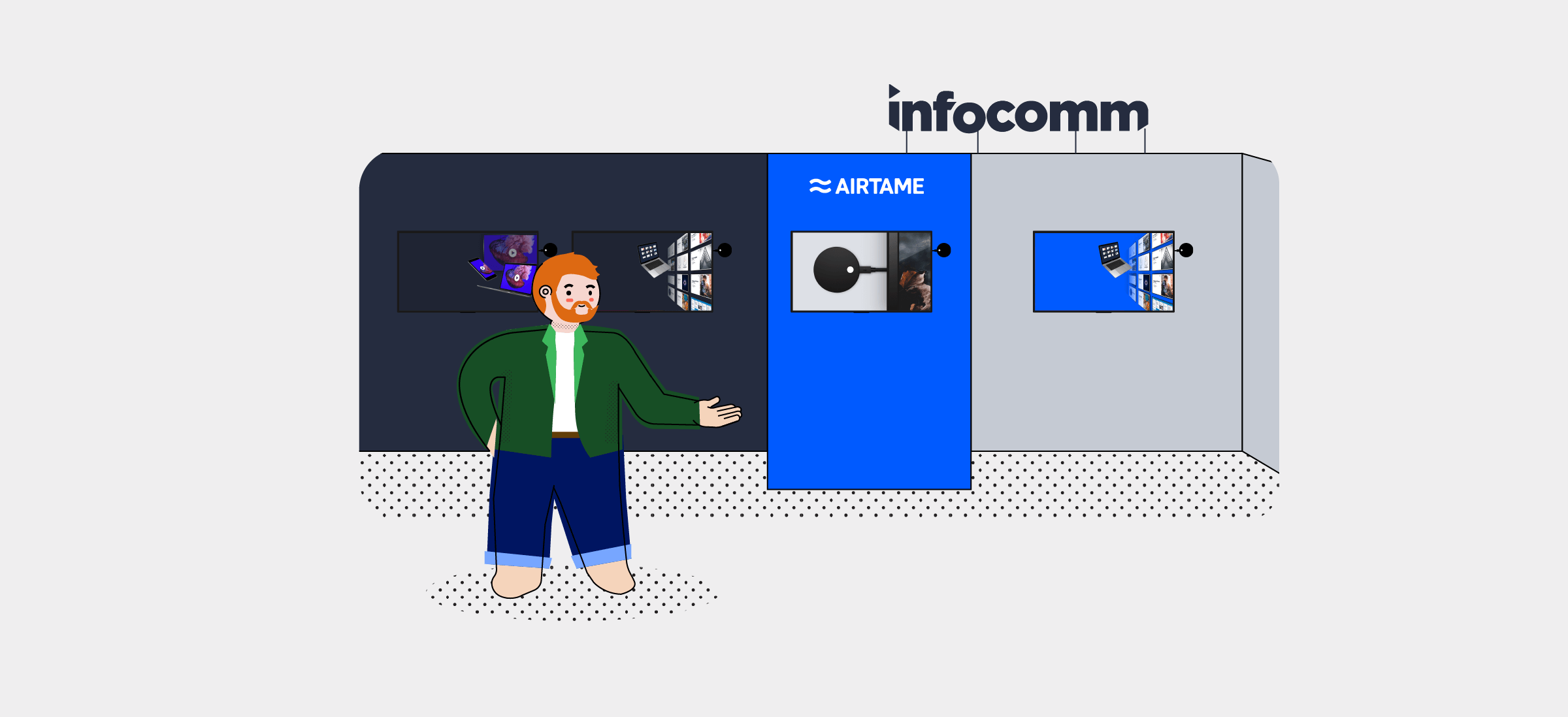 We're headed to Infocomm!