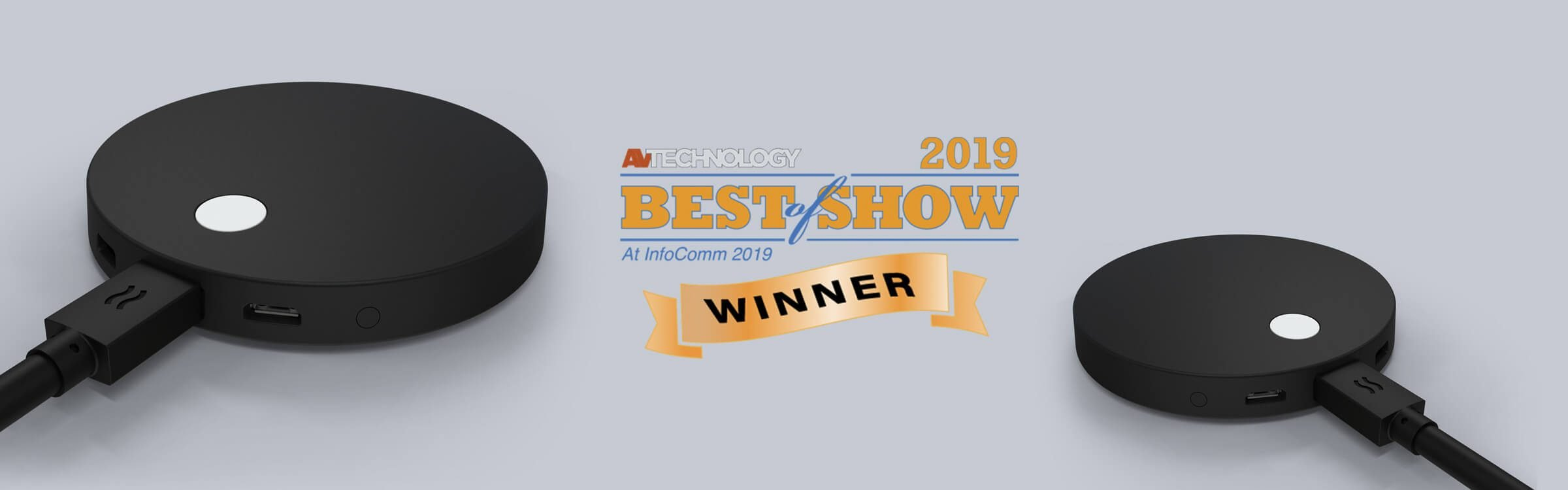Infocomm success: we won Best of Show!
