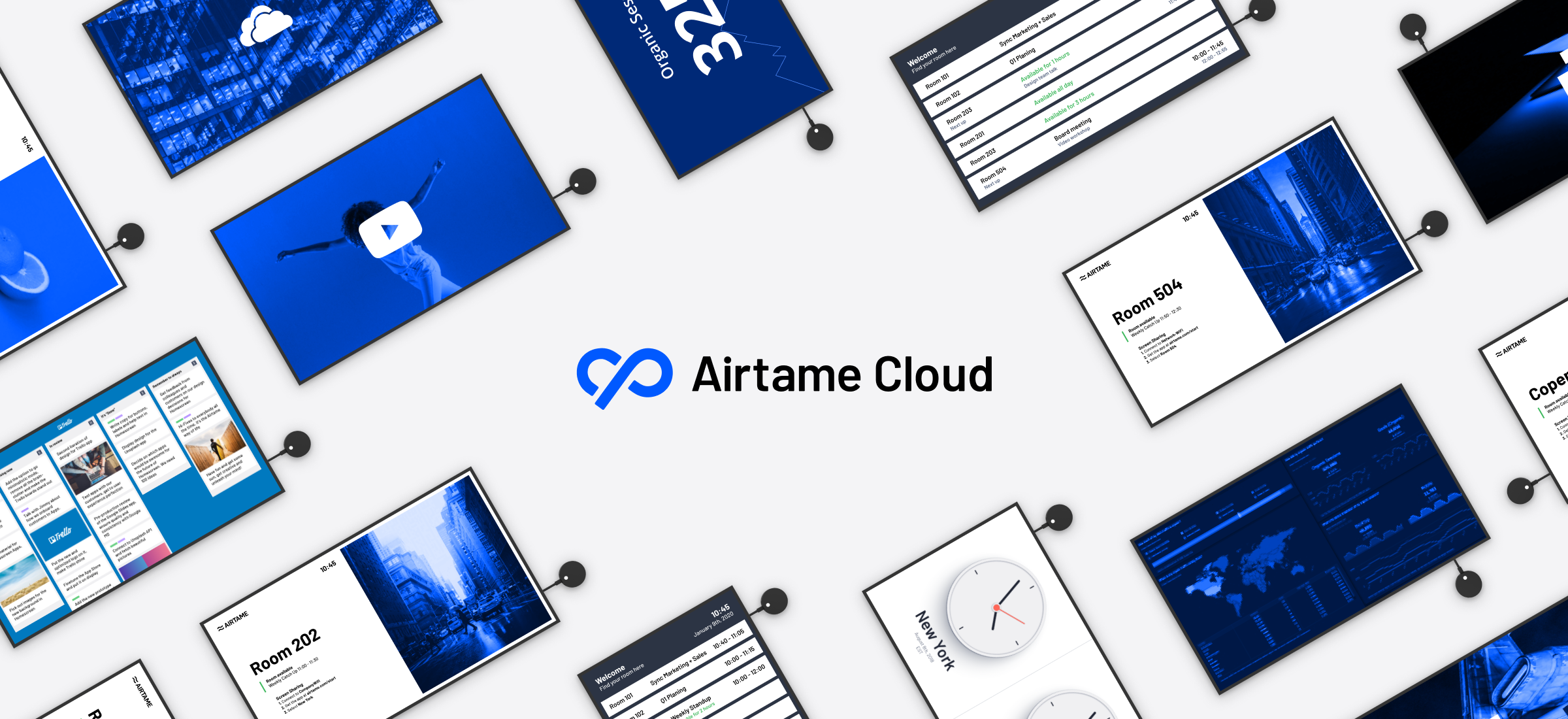 Making screens smarter with Airtame Cloud