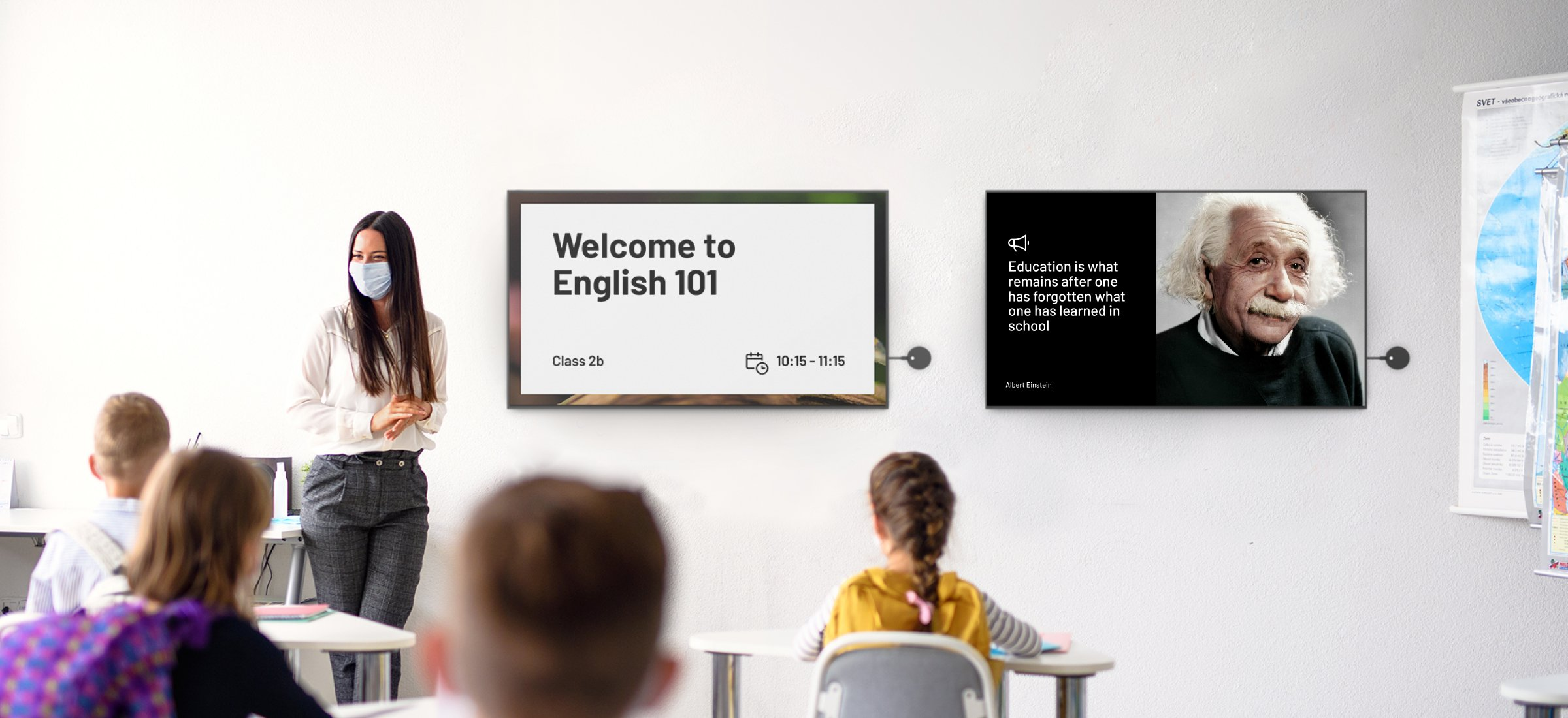 How to use digital signage to improve safety within schools